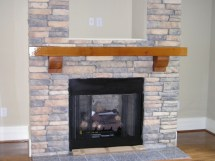 Create Rustic Style Fireplace With Cedar Mantels