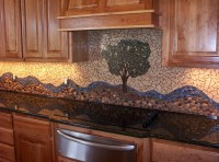 River Rock Backsplash, Give A New and Natural Accent to ...