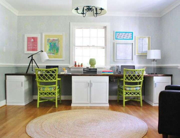 2 Person Desk Design Selections
