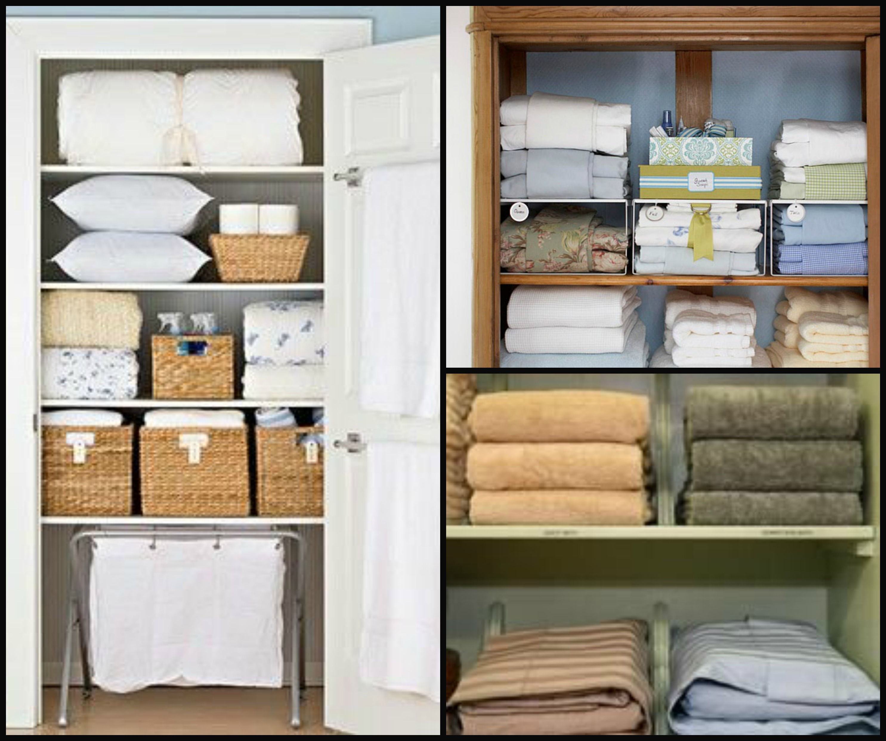 Linen Closet Organizers A Solution To Organize Linens