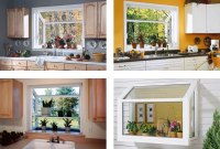 Compact Design of Garden Window for Kitchen | HomesFeed
