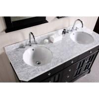 48 Inch Double Sink Bathroom Vanity | HomesFeed