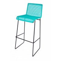 Turquoise Bar stools: Brighten Your Kitchen Bar | HomesFeed