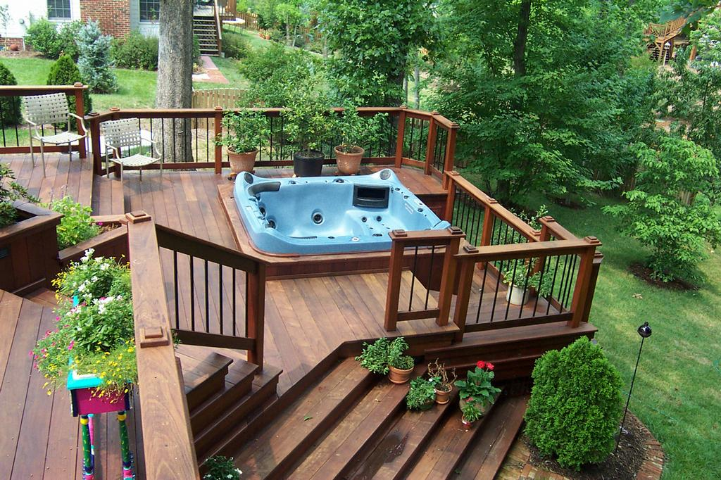 Garden Tubs Decoration Ideas