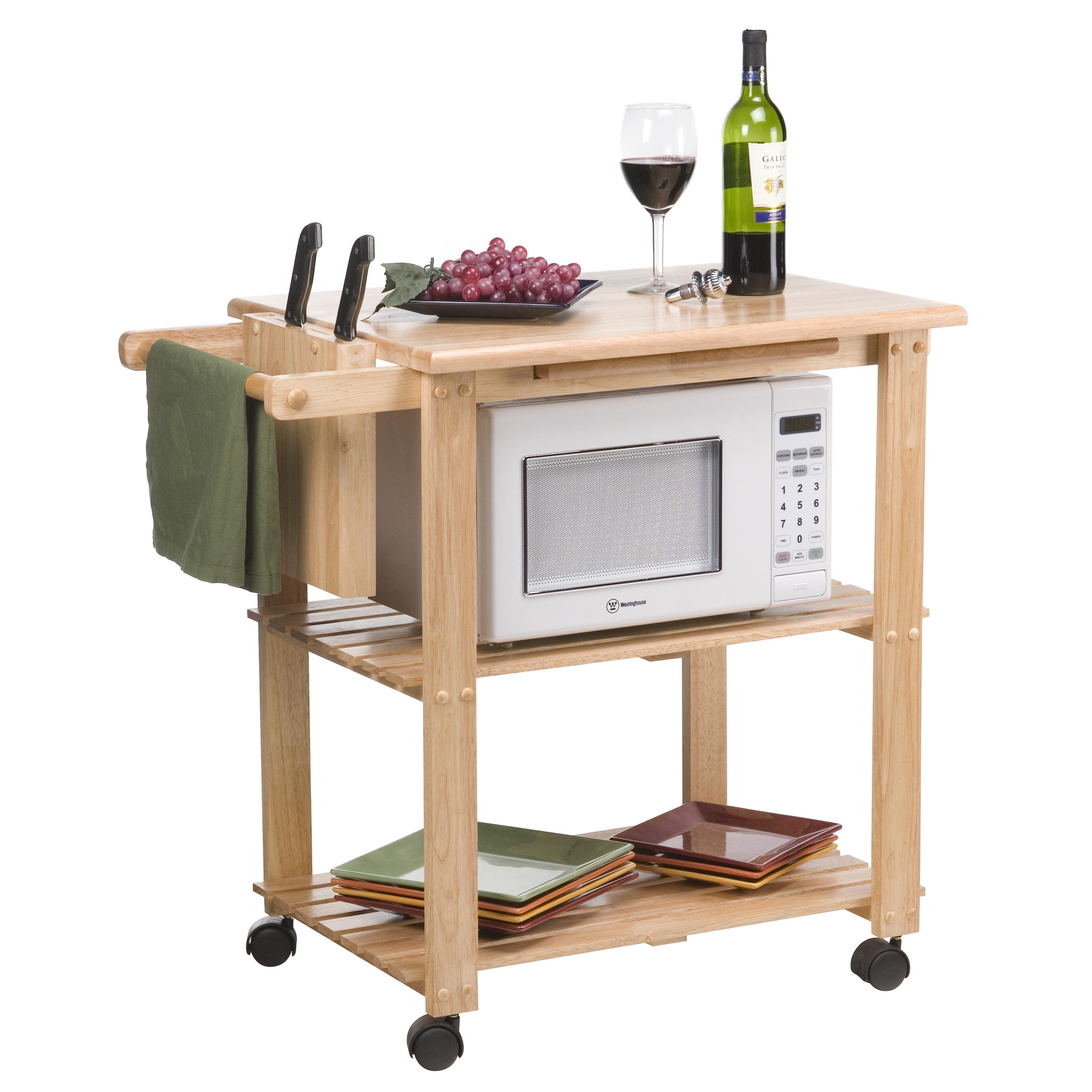 Making Microwave Cart
