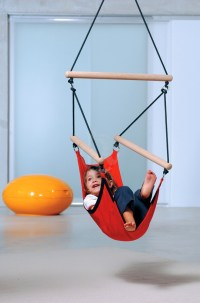 Colorful Choices of Hanging Chairs for Your Kids | HomesFeed
