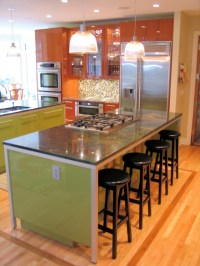 Adorable Design of Kitchen Island with Bar Seating | HomesFeed