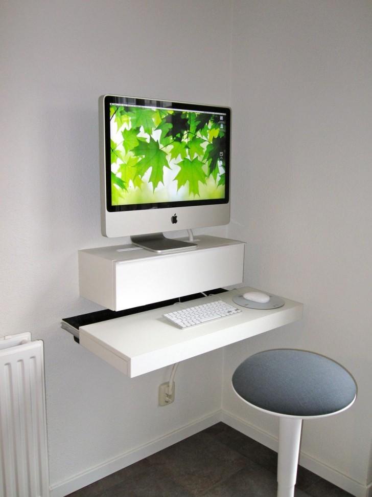 Smart Choice of Small Slim Computer Desk  HomesFeed