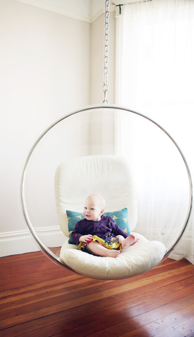 Wonderful Idea for Hanging Chair on The Ceiling
