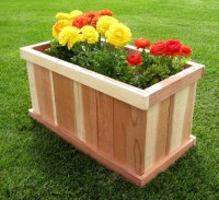 Incredible Design of Wood Planter Boxes for Big Plants ...