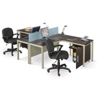 Two Person Workstation for Office and Home Office