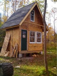 Small Rustic Cabin Plans | HomesFeed