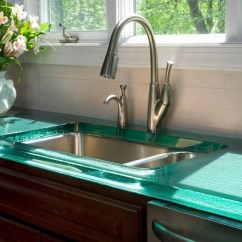 Inexpensive Kitchen Countertops Charcoal Cabinets Creative Counter Top Design Disguises Low Cost