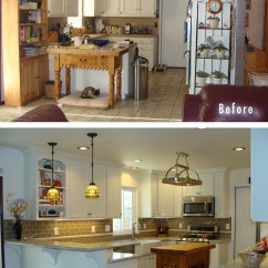 Kitchen Remodels Before And After Cabinets Greenville Sc Get The Fresh Cool Outlook Inspiration With