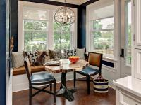 Cozy Dining Space with Banquette Seating Ideas | HomesFeed