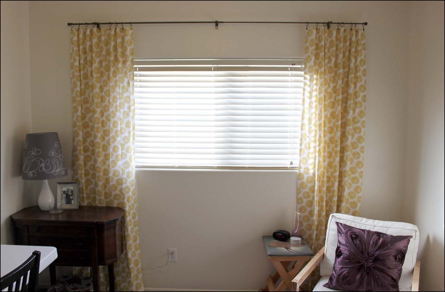 Long Or Short Curtains In A Small Bedroom