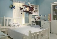 Modern Attractive Airplane Light Fixture Concept for Kids ...