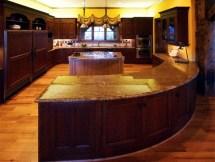 Curved Kitchen Island Designs
