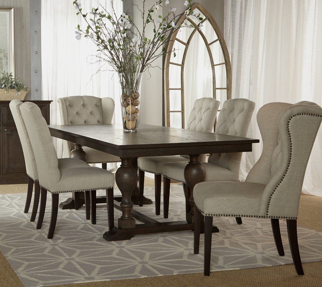 Cowhide Dining Chair Moving Traditional Matter into