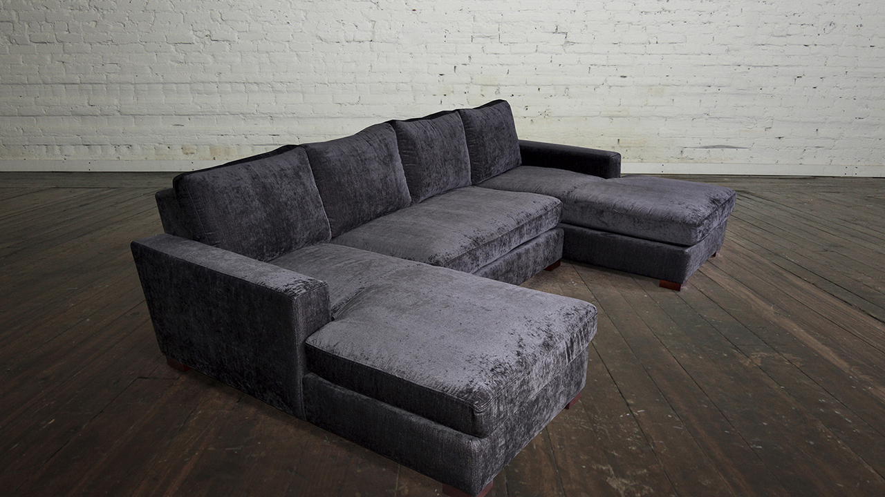 sectional sofas for apartments extra large pillows sofa double chaise sofas: type and finishing | homesfeed