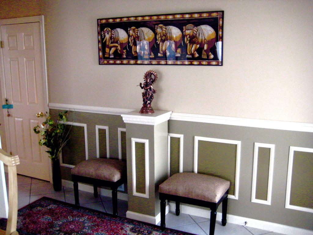chair rail designs ideas desk gold legs molding homesfeed