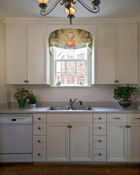 Window Treatments for Small Windows in Kitchen