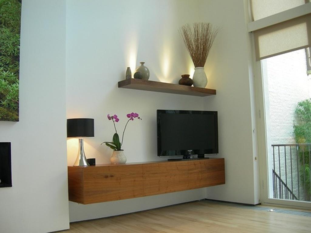 Floating Media Center For Creating The Modernity HomesFeed