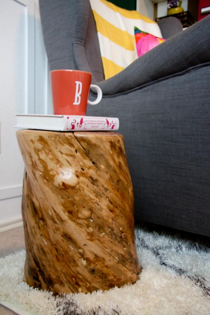 living room side table decoration ideas egyptian tree trunk table: contribute immense natural accent ...