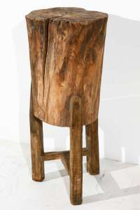 Tree Trunk Side Table: Contribute Immense Natural Accent ...