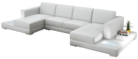 Double Chaise Sectional Sofas: Type and Finishing