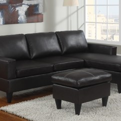 Black Paint For Leather Sofa Consumer Reports Best Sleeper Sofas Double Chaise Sectional Type And Finishing Homesfeed