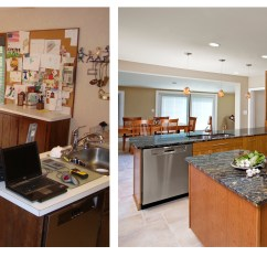 Kitchen Remodels Before And After Sinks For Sale Small Remodel Stunning