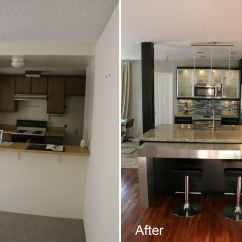 How Much Does It Cost To Remodel A Kitchen Appliances Pay Monthly Small Before And After For Stunning ...