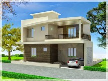 Simple Duplex House Design