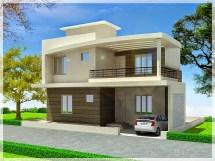 Simple Duplex House Design