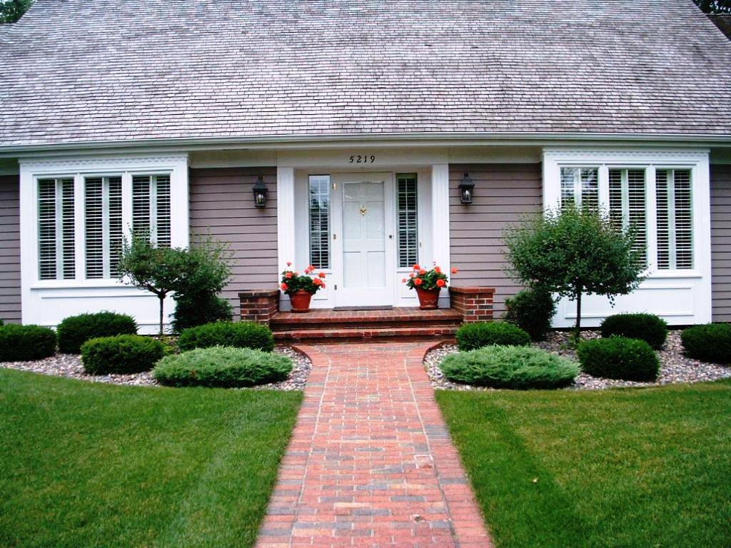 Front Yard Design for Ranch Style Homes