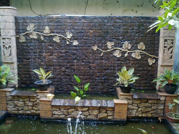 Brick Wall Waterfalls Indoor
