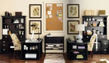 Rousing And Smart Home Office Ideas With 2 Person Desk