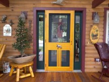 Wooden Screen Doors Home Depot