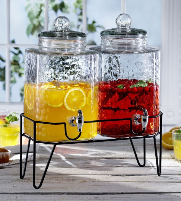 Cheer Party With Classy Glass Beverage Dispenser