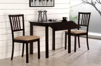 Compact Dining Space Arrangement with Drop Leaf Dining ...