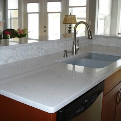 No Touch Kitchen Faucet Cabnet Cashmere White Granite Touches Interior With ...