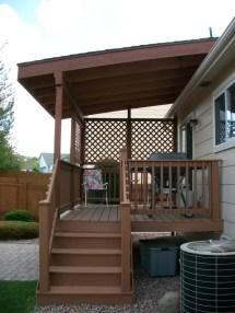 Beautiful Porch Skirting Apply