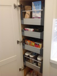 Decorate IKEA Pull Out Pantry in Your Kitchen and Say ...