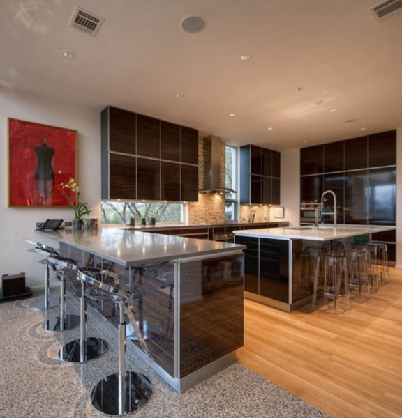 home kitchen design Contemporary Home Design and Floor Plan | HomesFeed
