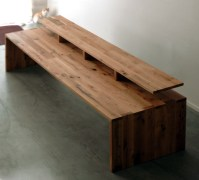 Wood Desk Tops That Present Rustic and Traditional