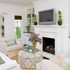 Better Homes And Gardens Living Room Pictures Decor Ideas Images Design A Homesfeed With White Fireplace Mantel Sofa Series Plus Their Pillows Wall Mount Tv Simple For Designed By