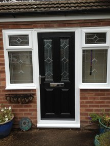 Homes with Black Front Doors
