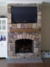 Cedar Mantel: Beautiful Accent Both to Cover and Trim ...
