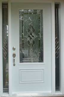 Exterior Front Doors with Glass
